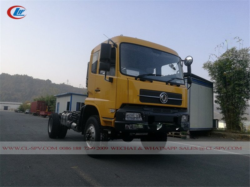 Dongfeng 4wd Right Drive Dump Truck