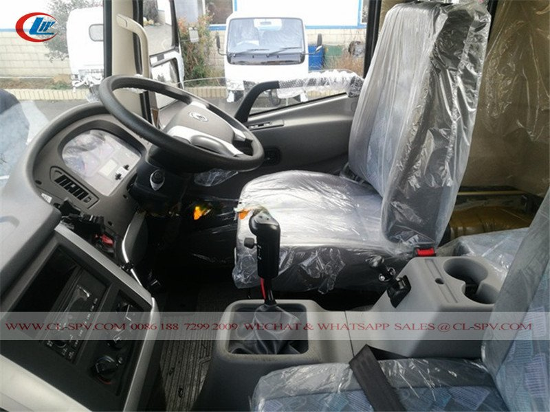Dongfeng KR 4WD Right Drive Dump Truck-inner cab