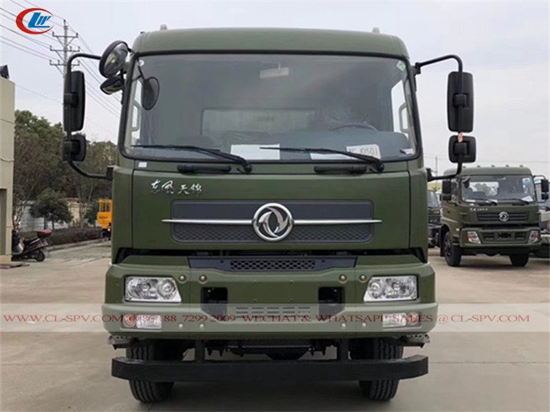 Dongfeng Kingrun 4wd off-road truck Chassis