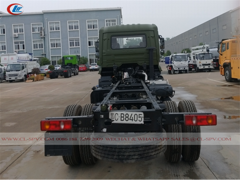 Dongfeng 4wd off-road truck Chassis