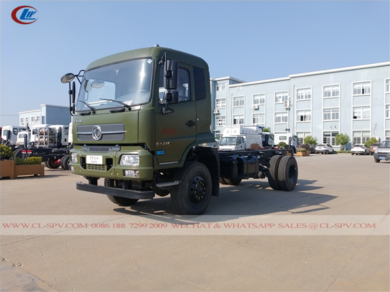 Dongfeng 4wd truck Chassis